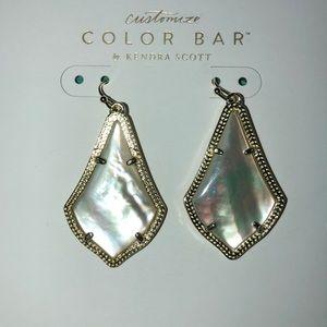 Kendra Scott Jewelry - Kendra Scott Alex Earrings Ivory Pearl Stone
